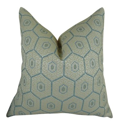 Venetian Way Handmade Throw Pillow  Size: 26 H x 26 W