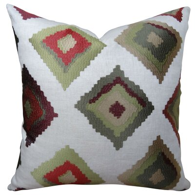 Earth Native-Trail Handmade Linen Throw Pillow Size: 22 H x 22 W