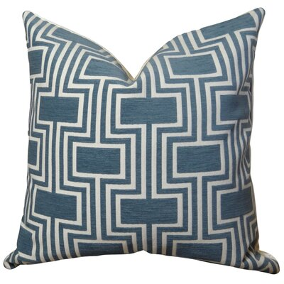 Midnight Conduit Handmade Throw Pillow  Size: 16 H x 16 W