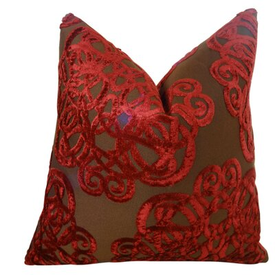 Archetype Jasper Handmade Throw Pillow  Size: 18 H x 18 W