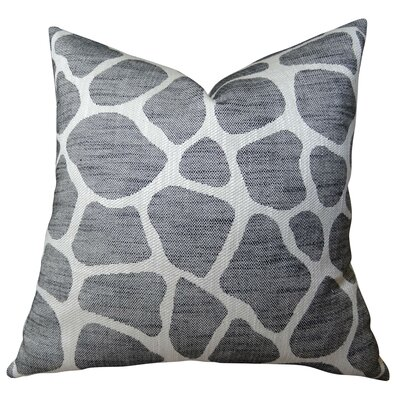 Rocky Way Onyx Handmade Throw Pillow  Size: 22 H x 22 W