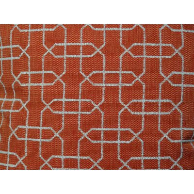 Ardmore Persimmon Handmade Throw Pillow Size: 12 H x 20 W