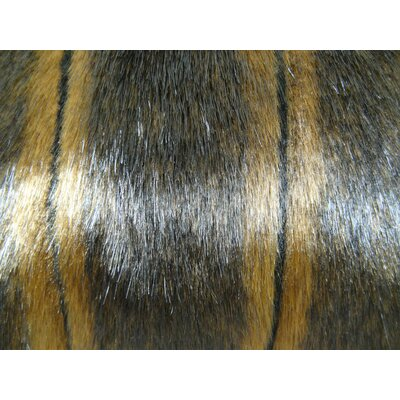 Fancy Mink Handmade Throw Pillow Size: 12 H x 20 W