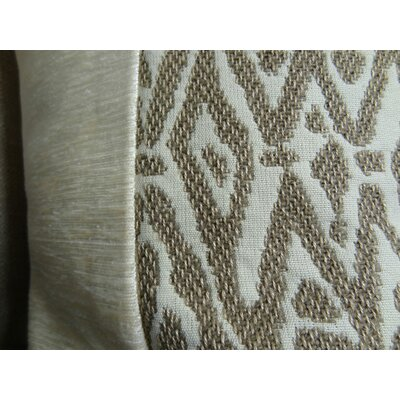 Trendy Look Handmade Throw Pillow  Size: 20 H x 20 W