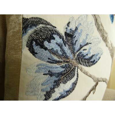 Bloom City Handmade Cotton Throw Pillow Size: 24 H x 24 W