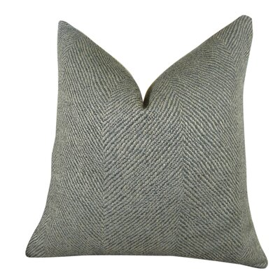 Enthusiast Tidal Handmade Throw Pillow  Size: 18 H x 18 W