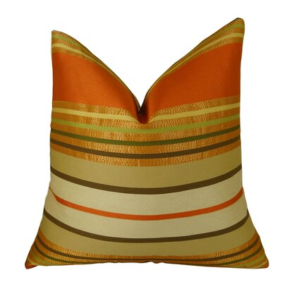 Aquavite Handmade Throw Pillow Size: 18 H x 18 W