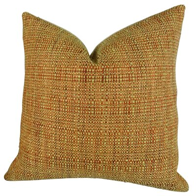 Kosoff Paprika Handmade Throw Pillow  Size: 24 H x 24 W