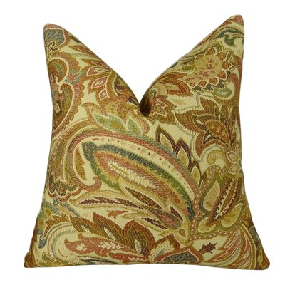 Crestview Honey Handmade Throw Pillow  Size: 16 H x 16 W