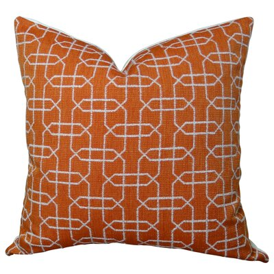 Ardmore Persimmon Handmade Throw Pillow Size: 26 H x 26 W