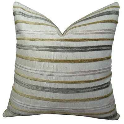 Expanse Handmade Throw Pillow Size: 18 H x 18 W