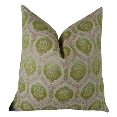 Tulip Handmade Throw Pillow  Size: 18 H x 18 W