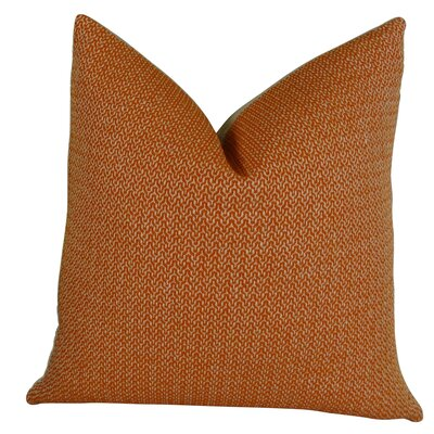 Lone Oak Cayenne Handmade Throw Pillow  Size: 24 H x 24 W