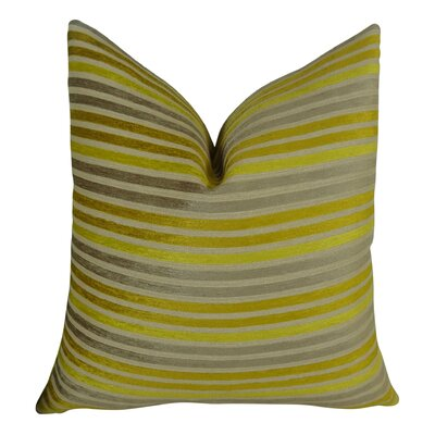 Fork Valley Handmade Throw Pillow  Size: 26 H x 26 W