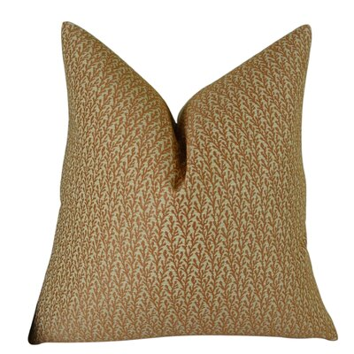 Ivy Handmade Throw Pillow Size: 18 H x 18 W