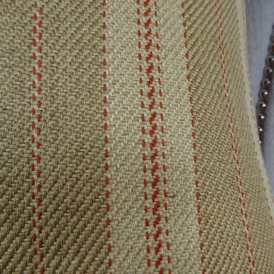 Woven Tweed Berry Handmade Cotton Throw Pillow  Size: 26 H x 26 W