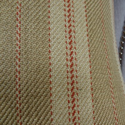 Woven Tweed Berry Handmade Cotton Throw Pillow  Size: 20 H x 20 W