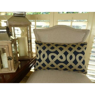 Graphic Maze Lumbar Pillow Size: 12 H x 25 W