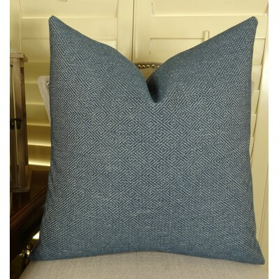 Textured Blend Throw Pillow Size: 18 H x 18 W