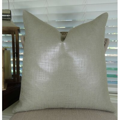 Glazed Throw Pillow Size: 18 H x 18 W