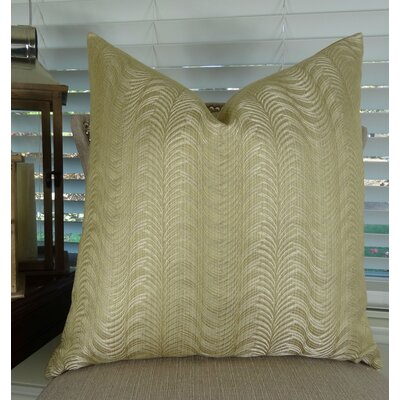 Delicate Waves Euro Pillow