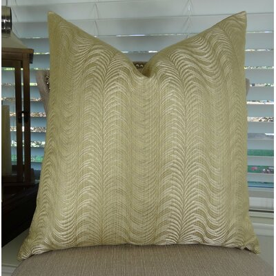 Delicate Throw Pillow Size: 18 H x 18 W