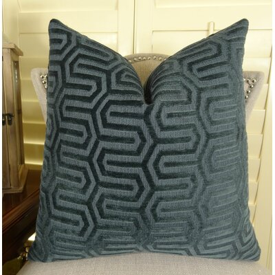 High Path Throw Pillow Size: 22 H x 22 W
