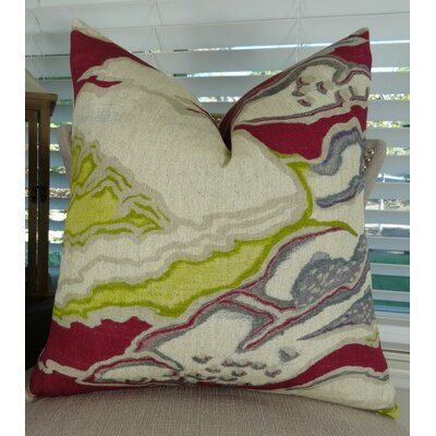 Chattingham Throw Pillow Size: 22 H x 22 W