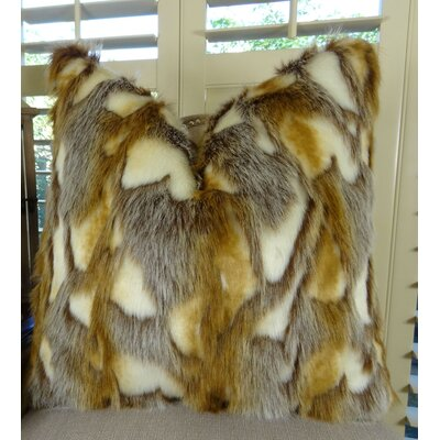 Brandy Fox Euro Pillow
