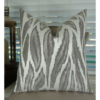 Glacier Throw Pillow Size: 18 H x 18 W