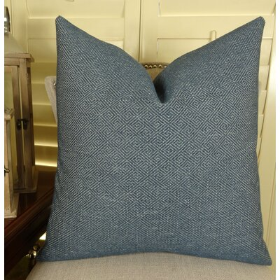 Textured Blend Throw Pillow Size: 22 H x 22 W