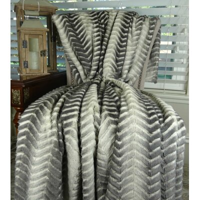 Polyester Throw Size: 110 L x 80 W