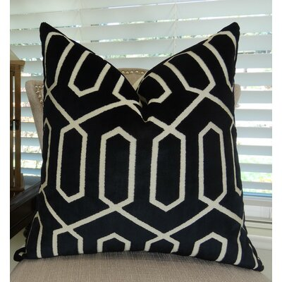 Bengal Lattice Euro Pillow