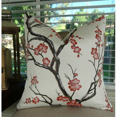 Japanese Blossom Euro Pillow