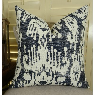 Painted Ikat Euro Pillow