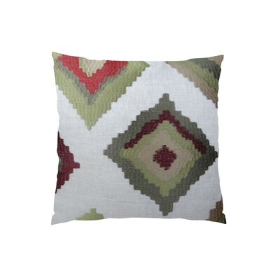 Earth Native-Trail Handmade Linen Throw Pillow  Size: 16 H x 16 W
