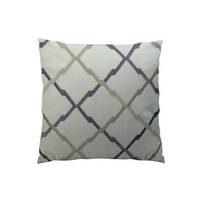 Lyford Purple/Taupe Throw Pillow Size: 20 H x 30 W