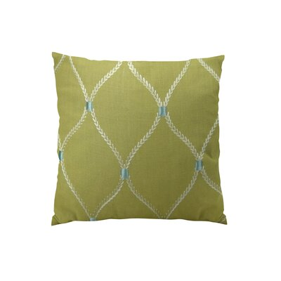 Dewdrop Handmade Throw Pillow Size: 18 H x 18 W