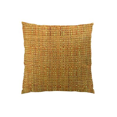 Kosoff Paprika Handmade Throw Pillow  Size: 18 H x 18 W