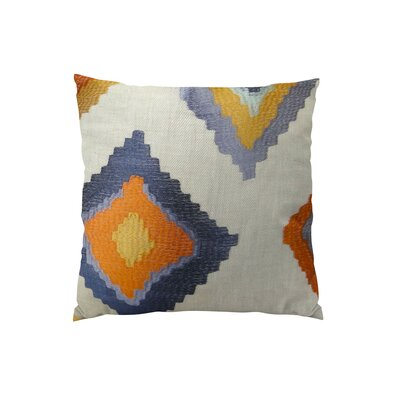 Native Trail Cayenne Handmade Linen Throw Pillow Size: 26 H x 26 W