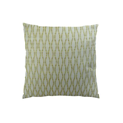 Winding Road Zest Handmade Throw Pillow  Size: 18 H x 18 W