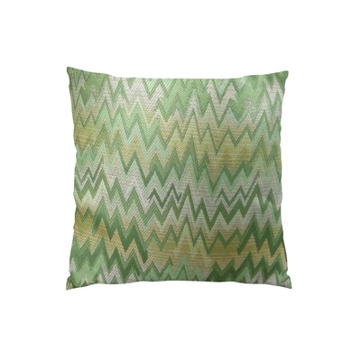 Peek Leaf Double Sided Throw Pillow Size: 26 H x 26 W