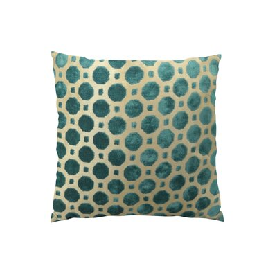 Velvet Throw Pillow Size: 20 H x 20 W