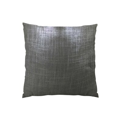 Glazed Linen Indigo Handmade Throw Pillow Size: 16 H x 16 W