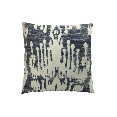 Painted Ikat Throw Pillow Size: 22 H x 22 W