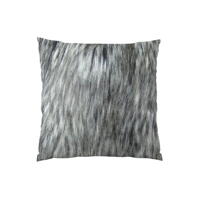 Siberian Husky Handmade Faux Throw Pillow Size: 12 H x 25 W