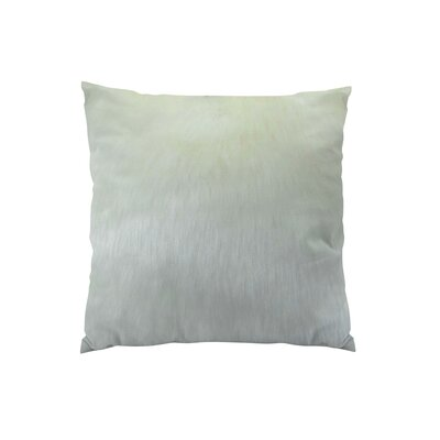Arctic Fox Handmade Throw Pillow  Size: 22 H x 22 W