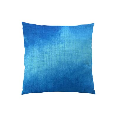 Lumiere Azure Throw Pillow Size: 18 H x 18 W