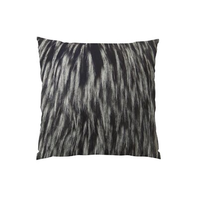 Wolf Fur Handmade Throw Pillow Size: 12