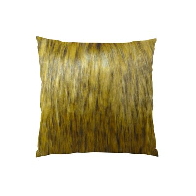 Mountain Coyote Handmade Throw Pillow  Size: 16 H x 16 W